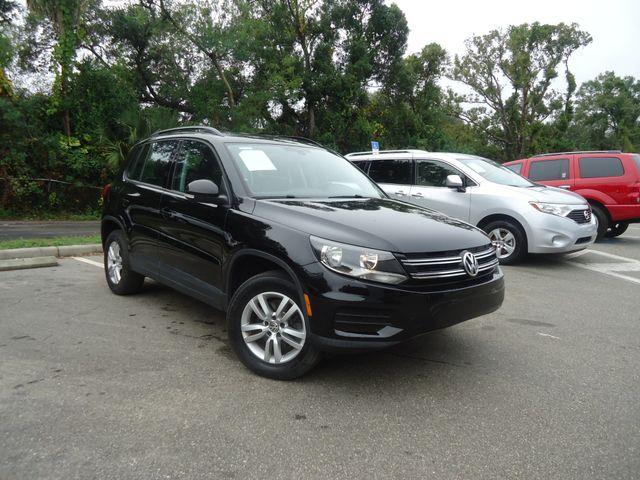 2016 Volkswagen Tiguan LEATHER. HTD SEATS. CAMERA SEFFNER, Florida 8
