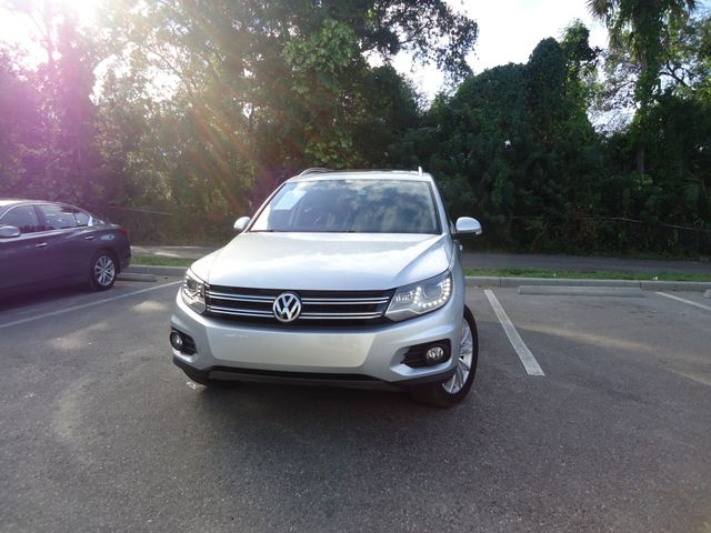 2016 Volkswagen Tiguan SE PANORAMIC. NAVIGATION SEFFNER, Florida
