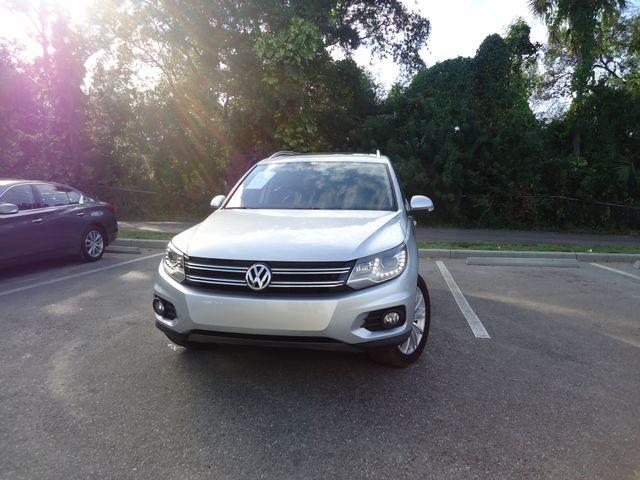 2016 Volkswagen Tiguan SE PANORAMIC. NAVIGATION SEFFNER, Florida 8