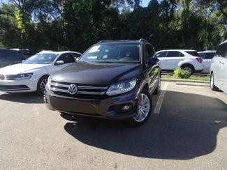 2016 Volkswagen Tiguan SE PANORAMIC. NAVIGATION. LEATHER SEFFNER, Florida