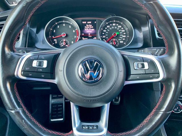 2016 Volskwagen GOLF GTI SE 1-OWNER NAVIGATION LEATHER SUNROOF NEW TIRES SERVICE RECORDS in Van Nuys, CA 91406