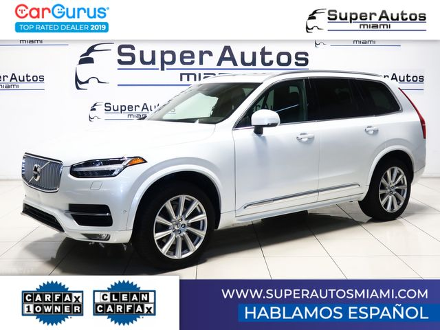 2016 Volvo XC90 T6 Inscription All-Wheel Drive with 3rd Row Seats