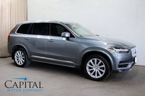 2016 Volvo XC90 T6 Inscription AWD SUV w/3rd Row Seats, Navigation, Vision, Climate & Convenience Pkgs in Eau Claire