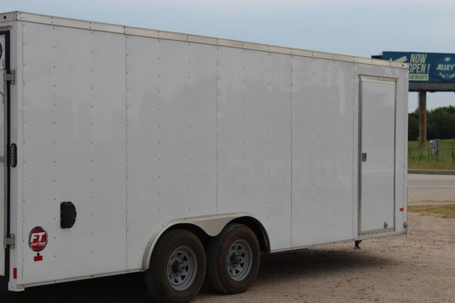 2016 Wells Cargo FT85204 20' ENCLOSED CAR TRAILER CONROE, TX 13