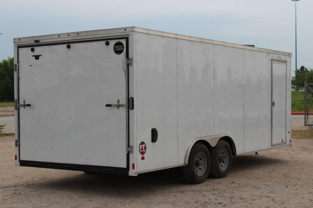2016 Wells Cargo FT85204 20' ENCLOSED CAR TRAILER CONROE, TX 14