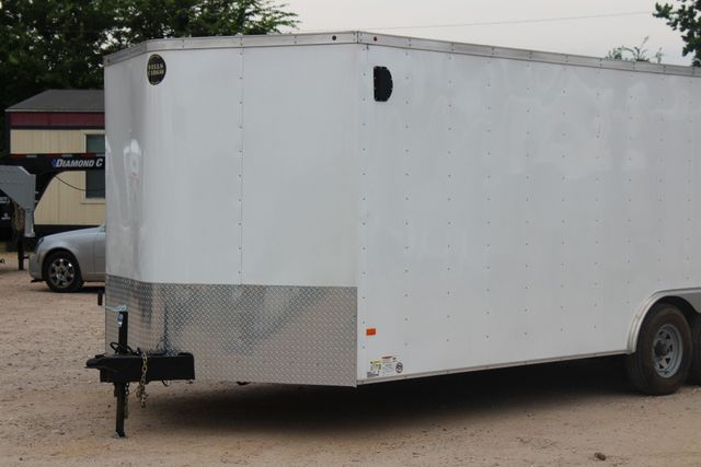 2016 Wells Cargo FT85204 20' ENCLOSED CAR TRAILER CONROE, TX 4