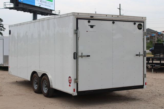 2016 Wells Cargo FT85204 20' ENCLOSED CAR TRAILER CONROE, TX 8