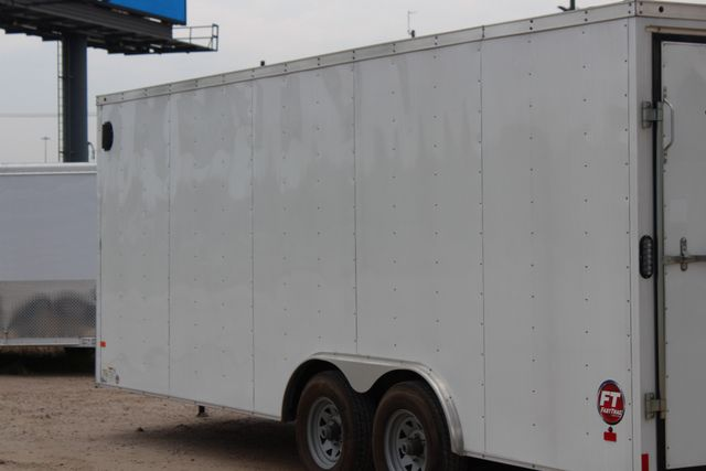 2016 Wells Cargo FT85204 20' ENCLOSED CAR TRAILER CONROE, TX 9