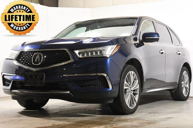 2017 Acura MDX Technology w/ DvD/ Nav/ Blind Spot