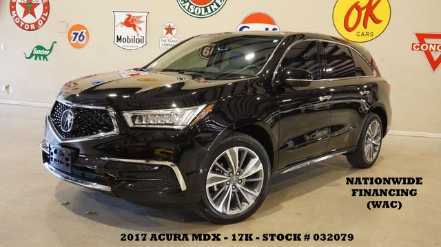 2017 Acura MDX w/Technology Pkg AWD ROOF,NAV,HTD LTH,3RD ROW,17K
