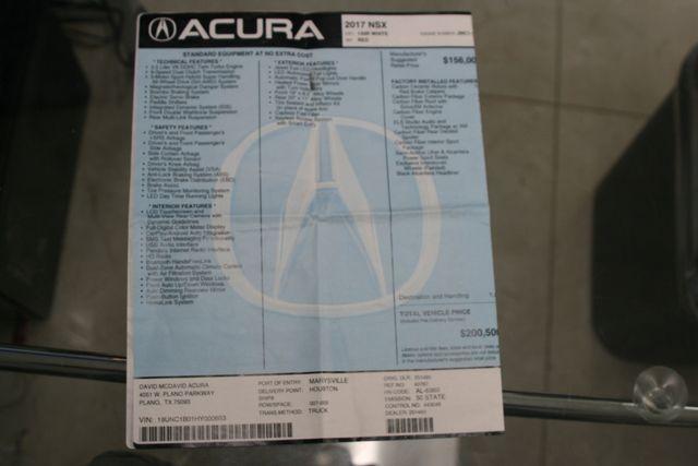 2017 Acura NSX Houston, Texas 34
