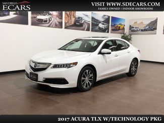 2017 Acura TLX w/Technology Pkg in San Diego, CA 92126
