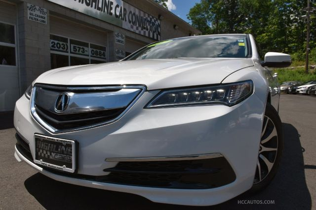 2017 Acura TLX FWD Waterbury, Connecticut 3