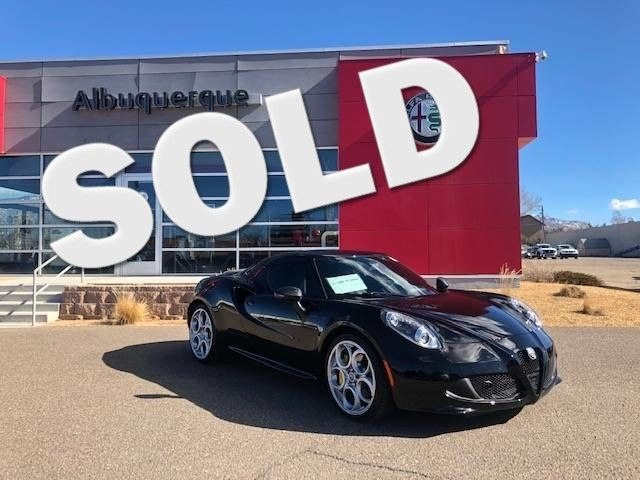 2017 Alfa Romeo 4C Coupe in Albuquerque, New Mexico 87109