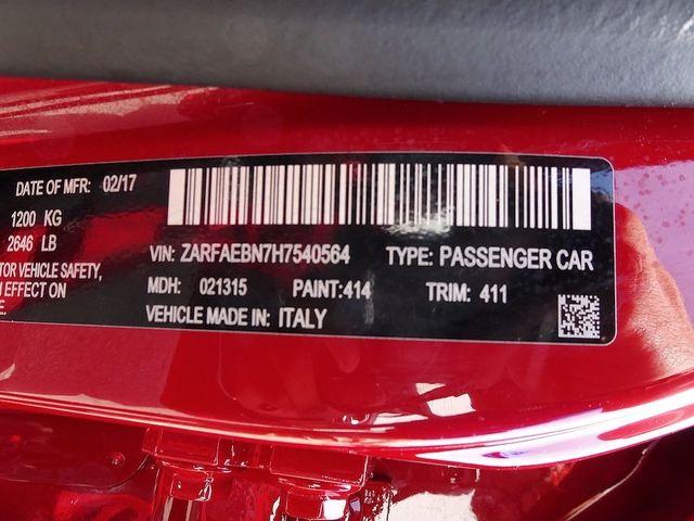 2017 Alfa Romeo Giulia Base Madison, NC 51