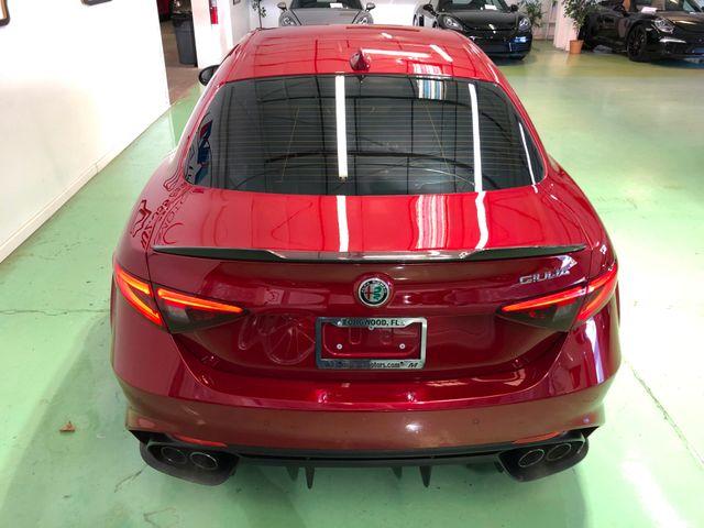 2017 Alfa Romeo Giulia Quadrifoglio Longwood, FL 8