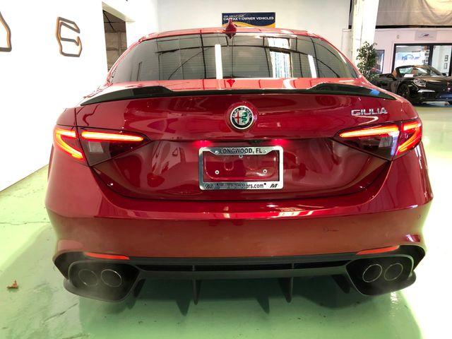 2017 Alfa Romeo Giulia Quadrifoglio Longwood, FL 9