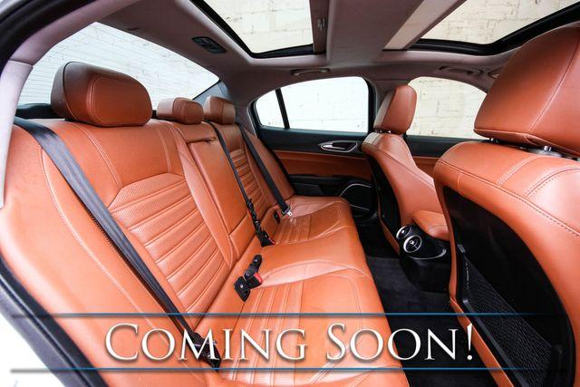 "2017 Alfa Romeo Giulia Ti Q4 AWD Sport Sedan w/Nav, Driver Assist Pkg, H/K Premium Audio & 19"" Wheels in Eau Claire, Wisconsin 54703"