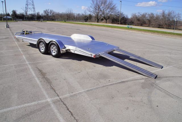 2017 Atc USED Open Car Hauler w/ Electric Winch in Fort Worth, TX 76111