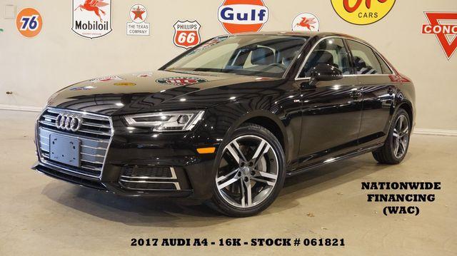 2017 Audi A4 Premium Plus SUNROOF,NAV,BACK-UP,HTD LTH,16K in Carrollton, TX 75006