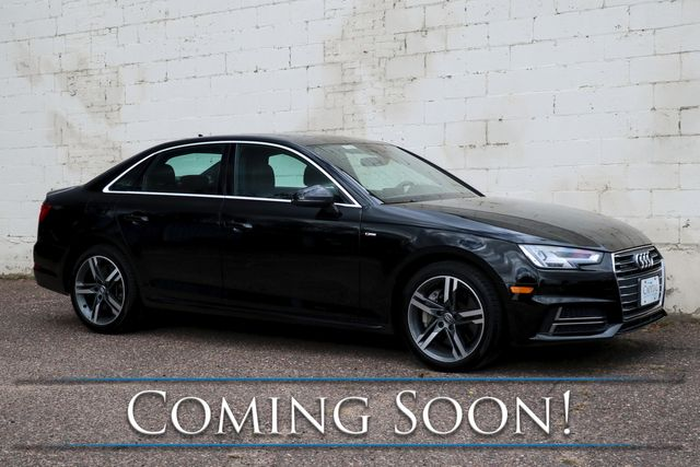 2017 Audi A4 2.0T Premium Plus Quattro AWD Luxury Car w/Nav, Backup Cam, Heated Seats and Bang & Olufsen Audio in Eau Claire, Wisconsin 54703