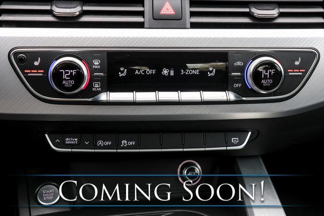 2017 Audi A4 Premium 2.0T Quattro AWD w/Nav, Backup Cam, Heated Seats, Moonroof & B.T. Audio in Eau Claire, Wisconsin 54703