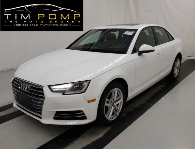 2017 Audi A4 Premium W/SUNROOF LEATHER SEATS NAVIGATION