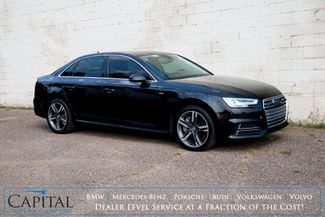 2017 Audi A4 Premium Plus Quattro AWD w/Technology Pkg, Nav, Heated Seats, Moonroof & 19-Speaker Audio Pkg in Eau Claire, Wisconsin 54703