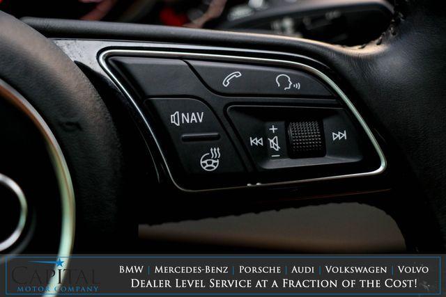 2017 Audi A4 Premium Plus Quattro AWD w/Technology Pkg, Nav, Heated Seats, Moonroof & 19-Speaker Audio Pkg in Eau Claire, Wisconsin 54703