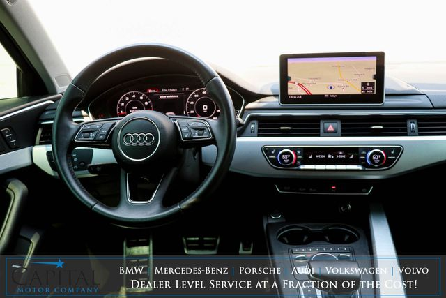2017 Audi A4 Premium Plus Quattro Turbo Sport Sedan with Nav, Heated Seats, Apple CarPlay & Bi-Tone Rims in Eau Claire, Wisconsin 54703