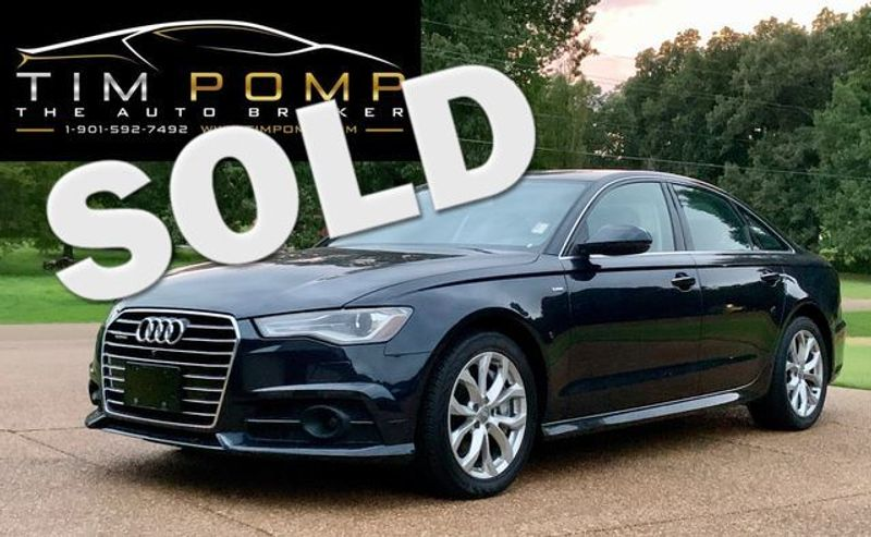 2017 Audi A6 Premium Plus | Memphis, Tennessee | Tim Pomp - The Auto Broker in Memphis Tennessee