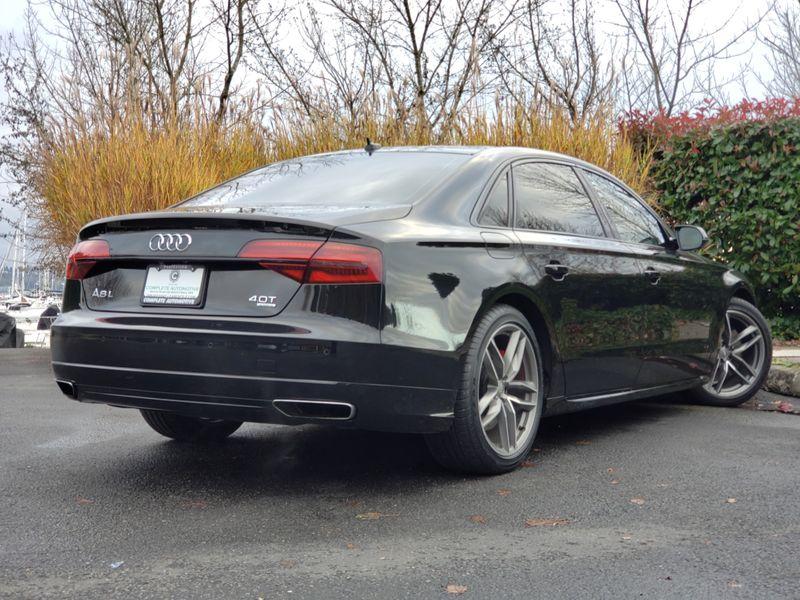 2017 Audi A8 L 40T Quattro Sport Night Vision Driving Assist Dynamic Black Optic  city Washington  Complete Automotive  in Seattle, Washington