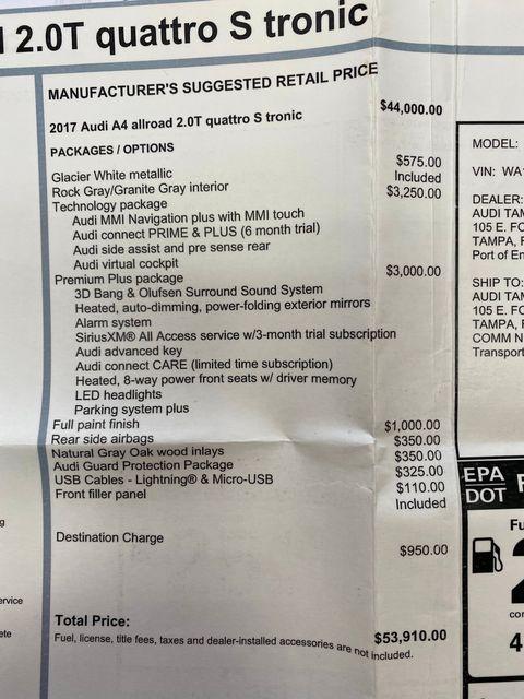 2017 Audi allroad Premium Plus Longwood, FL 56
