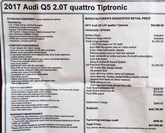 2017 Audi Q5 2.0T Quattro Premium Plus in Alexandria VA