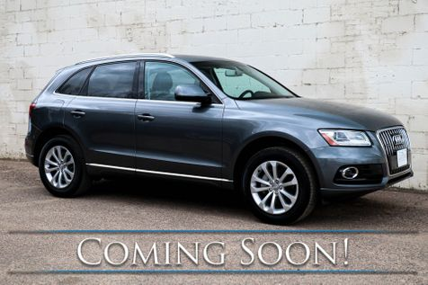 2017 Audi Q5 Premium 2.0T Quattro w/Navi, Heated Seats, Panoramic Moonroof and Audi Concert with Bluetooth in Eau Claire