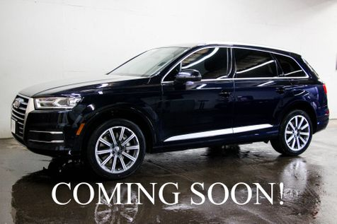 2017 Audi Q7 Premium Plus AWD Quattro w/3rd Row Seats, Navi, Backup Cam Heated F/R Seats and Panoramic Moonroof in Eau Claire