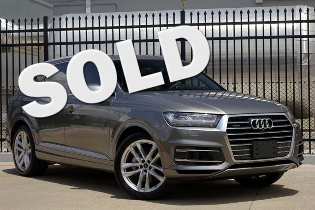 2017 Audi Q7 PRESTIGE * Driver Assist * HEADS UP * 21's * CWP Plano, Texas