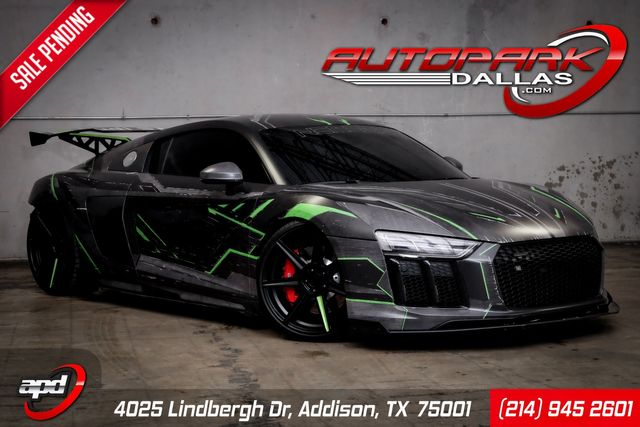 2017 Audi R8 Coupe V10 Gintani Twin Turbo, Wrapped, and MORE