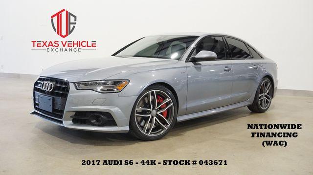 2017 Audi S6 Prestige HUD,ROOF,NAV,360 CAM,HTD/COOL LTH,44K
