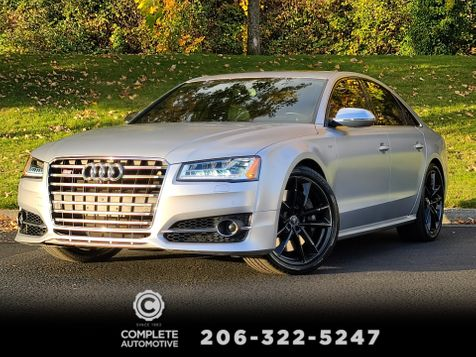 2017 Audi S8 Plus 4.0T Quattro All Wheel Drive 605HP Local 1 Owner $21,600 Options Save $68,000 in Seattle