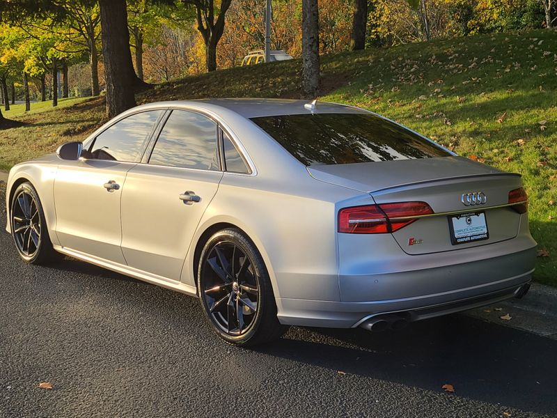 2017 Audi S8 Plus 40T Quattro All Wheel Drive 605HP Local 1 Owner 21600 Options Save 68000  city Washington  Complete Automotive  in Seattle, Washington