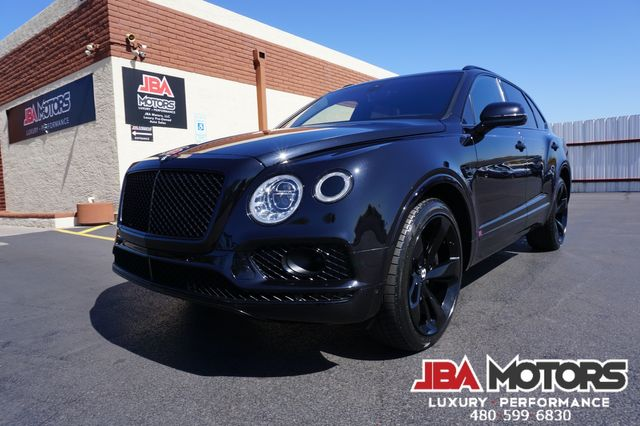 2017 Bentley Bentayga First Edition ~ Diamond Stitched ~ Black Out Pkg