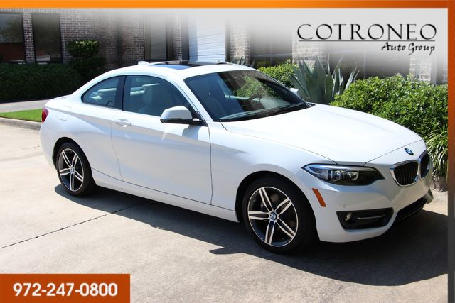 2017 BMW 230i Coupe Sport Line in Addison, TX 75001