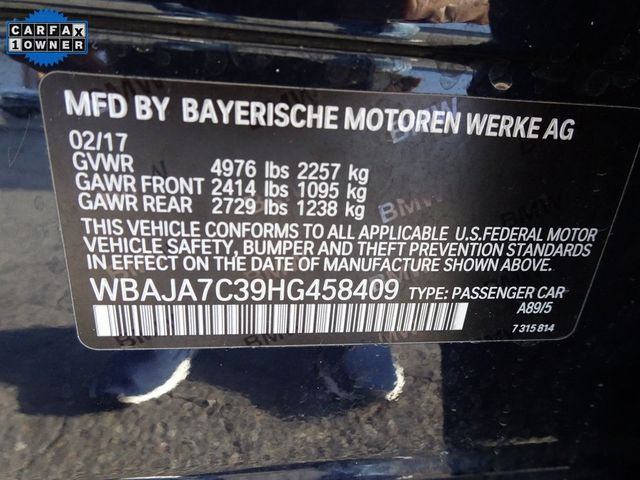 2017 BMW 530i xDrive 530i xDrive Madison, NC 52