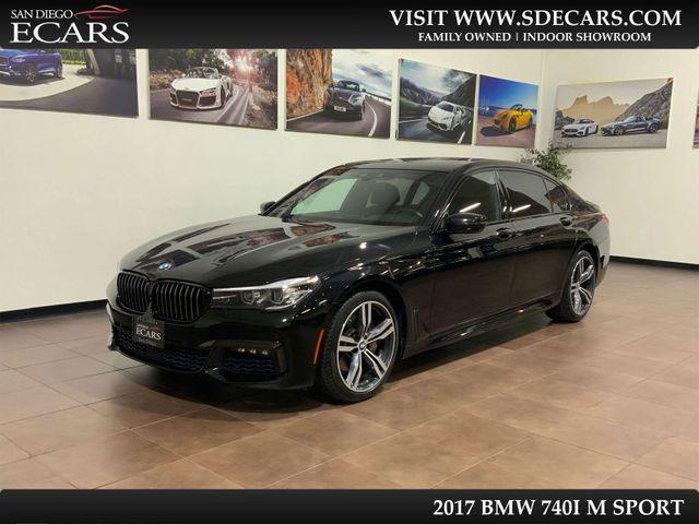 2017 BMW 740i M Sport