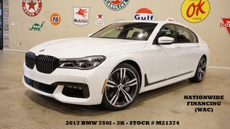 2017 BMW 750i Sedan MSRP 109K,EXECUTIVE PKG,M SPORT PKG,20'S,3K in Carrollton, TX 75006