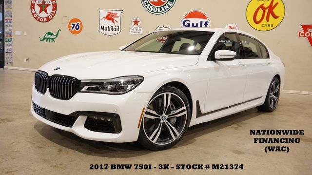 2017 BMW 750i Sedan MSRP 109K,EXECUTIVE PKG,M SPORT PKG,20'S,3K
