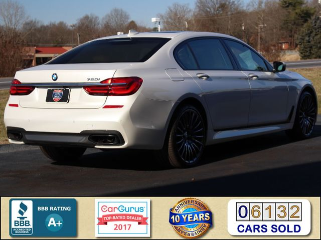 2017 BMW 750i RWD - M SPORT, EXECUTIVE & DRIVER PLUS II PKGS! Mooresville , NC 2