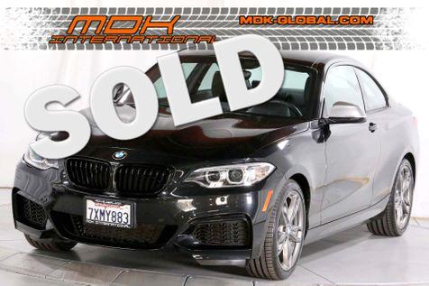 2017 BMW M240i - MANUAL TRANSMISSION - NAV - 24K miles in Los Angeles