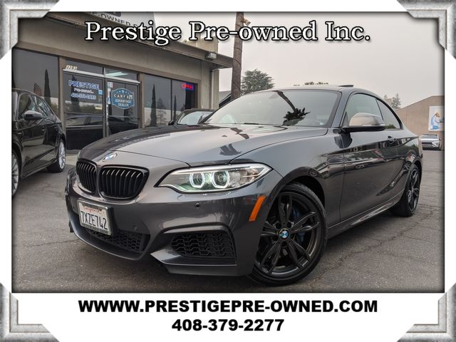 2017 BMW M240i ((**M SPORT/HEATED SEATS/MOON-ROOF**))